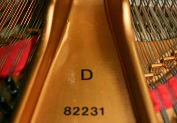 used piano Steinway D Grand Piano
